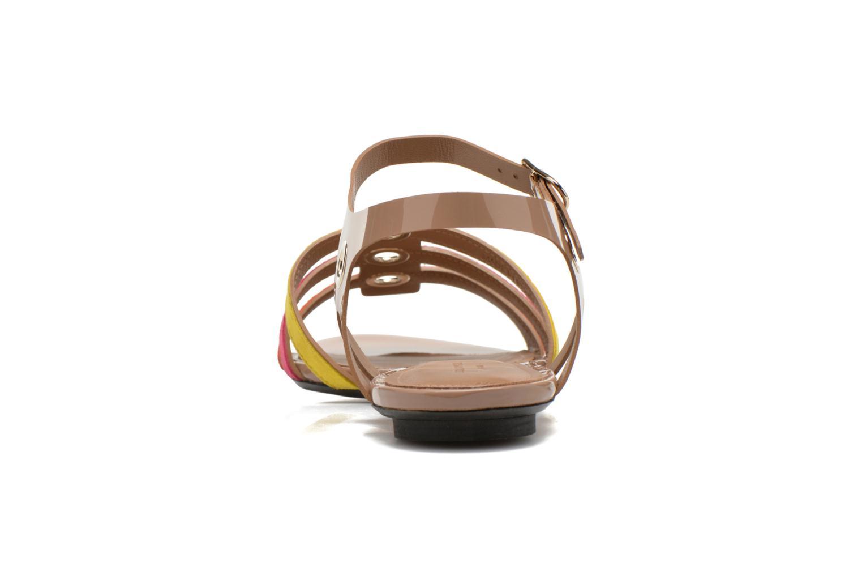 Sandales et nu-pieds Sonia Rykiel Podium Multicolore vue droite
