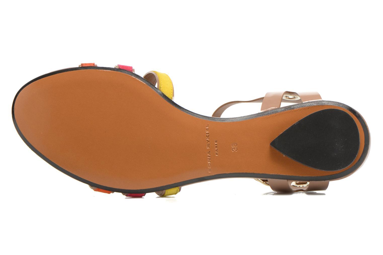 Sandales et nu-pieds Sonia Rykiel Podium Multicolore vue haut
