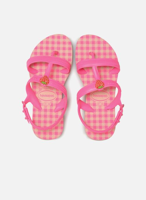Sandalen Havaianas Kids Joy Spring rosa schuhe getragen