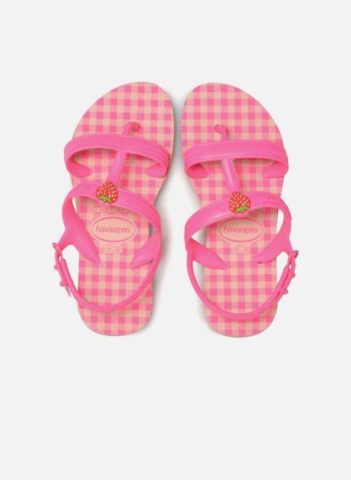Sandales et nu-pieds Havaianas Kids Joy Spring Rose vue portées chaussures
