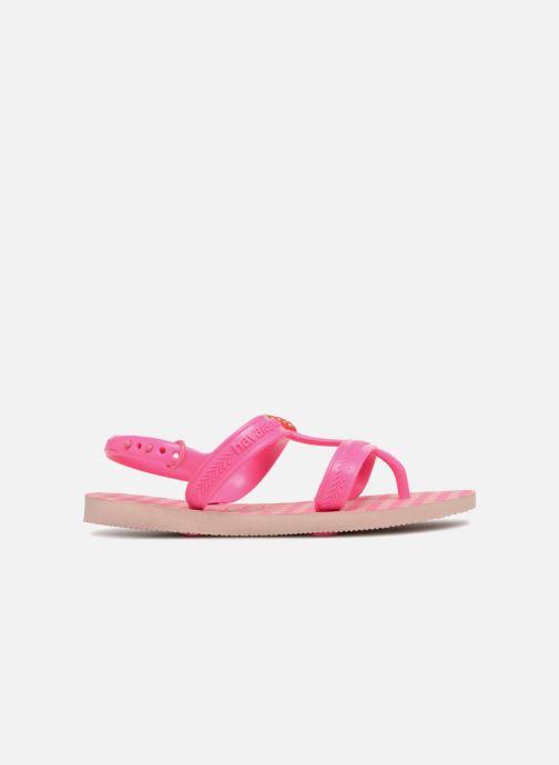 Sandales et nu-pieds Havaianas Kids Joy Spring Rose vue derrière