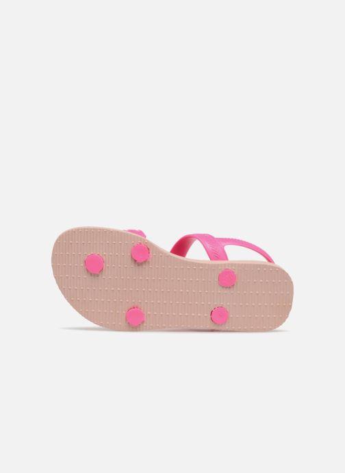 Sandales et nu-pieds Havaianas Kids Joy Spring Rose vue haut