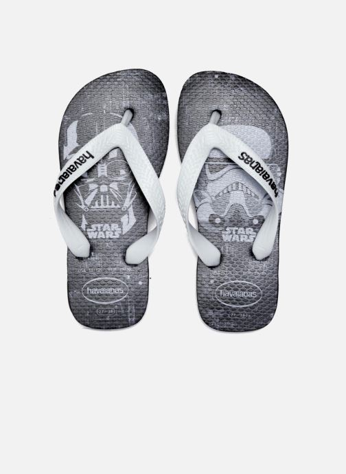 Chanclas Havaianas Kids Star Wars Negro vista 3/4