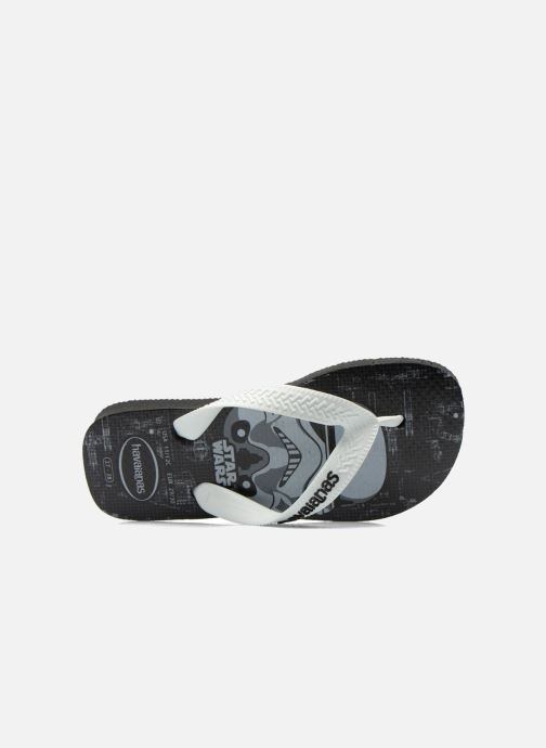 Tongs Havaianas Kids Star Wars Noir vue gauche
