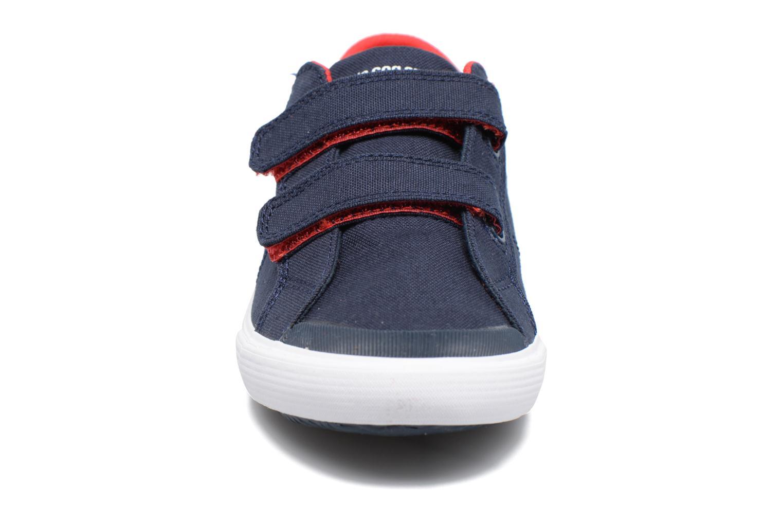 Baskets Le Coq Sportif Saint Gaetan PS Bleu vue portées chaussures