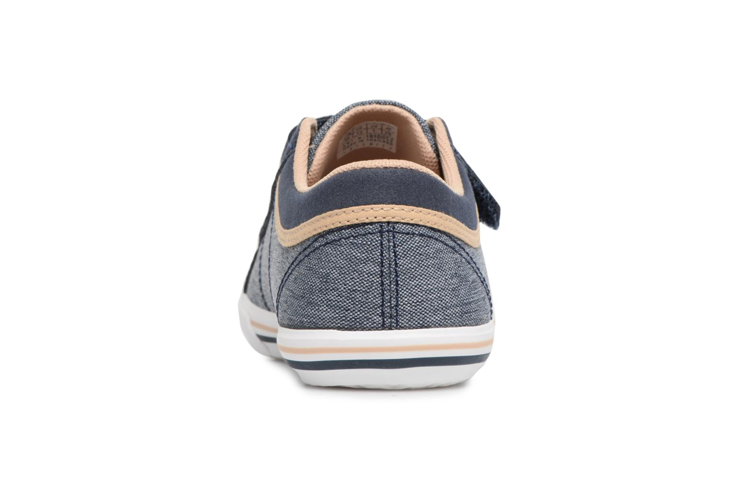 Trainers Le Coq Sportif Saint Gaetan PS Blue view from the right