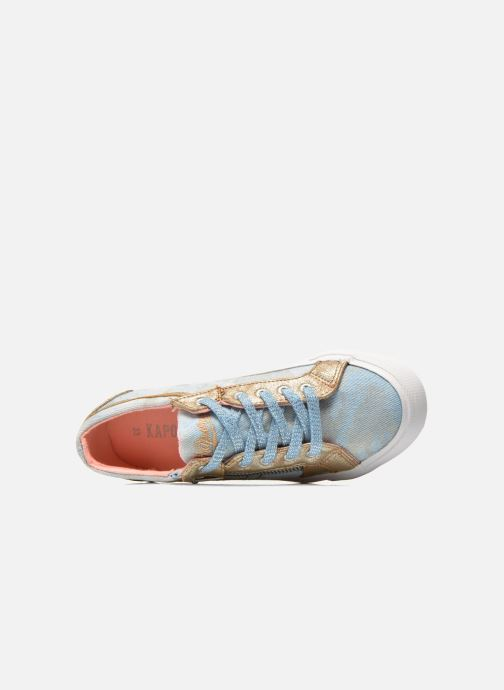 Trainers Kaporal Amon Blue view from the left