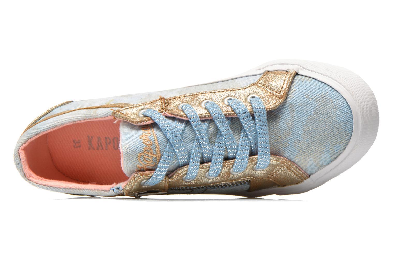 Sneakers Kaporal Amon Blauw links
