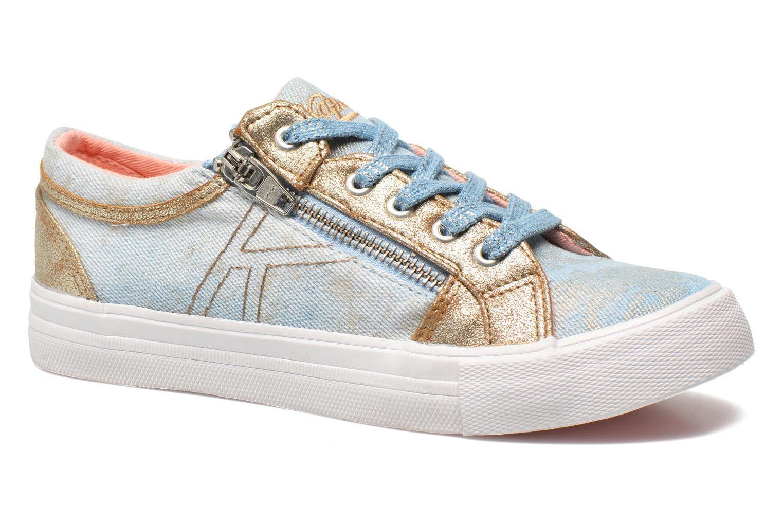 Sneakers Kaporal Amon Blauw detail