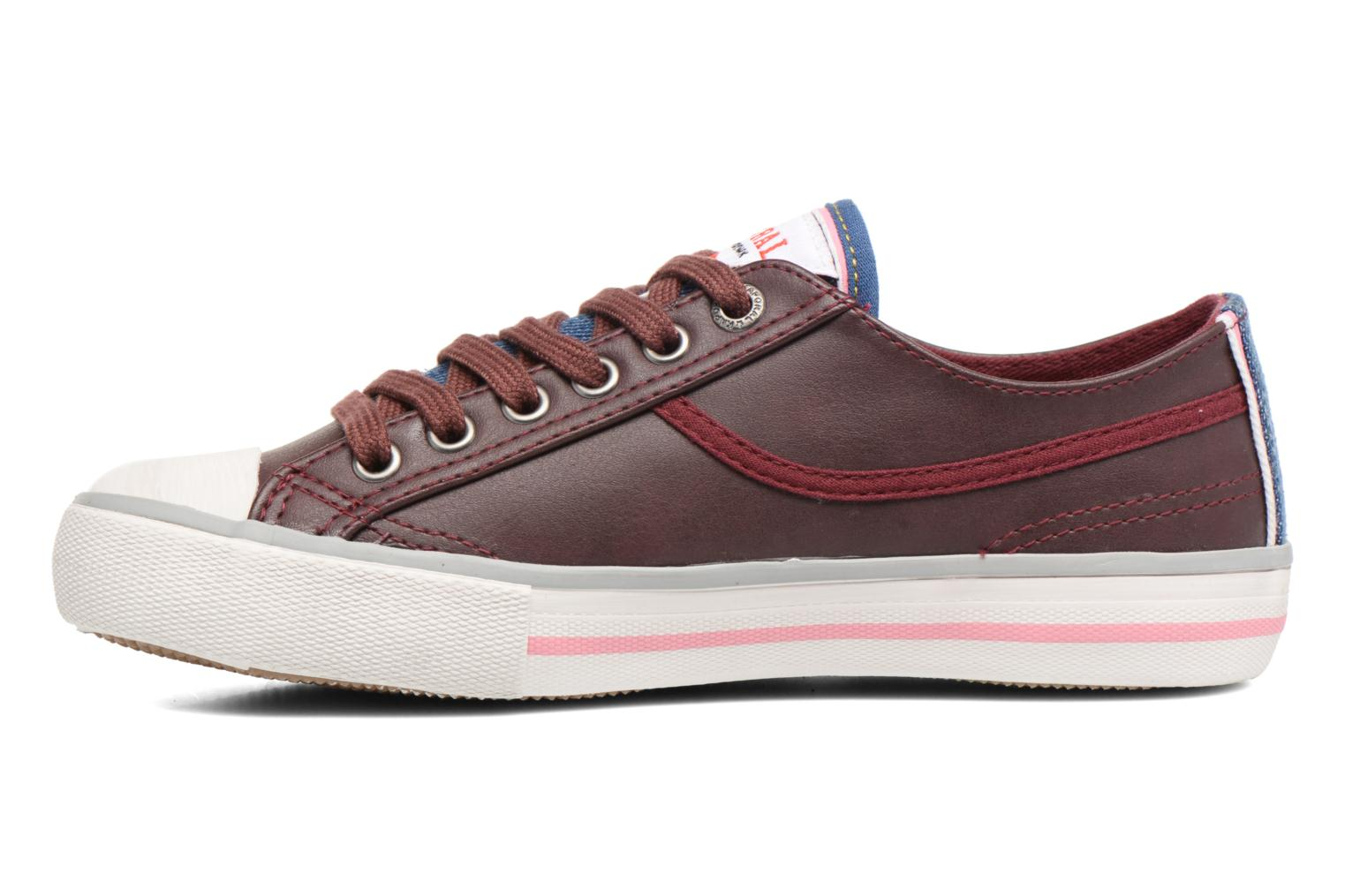 Baskets Kaporal Icario Bordeaux vue face