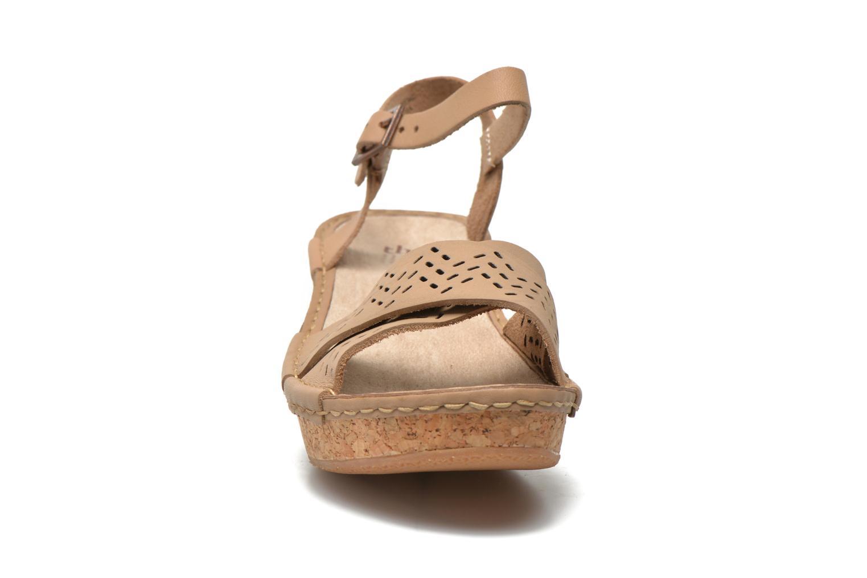 Sandals TBS Alyson Beige model view