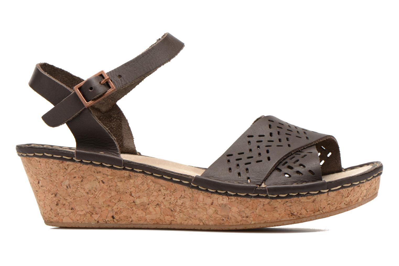 Sandales et nu-pieds TBS Alyson Marron vue derrière