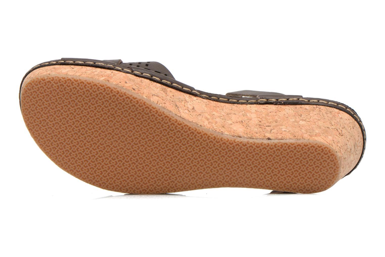 Sandales et nu-pieds TBS Alyson Marron vue haut