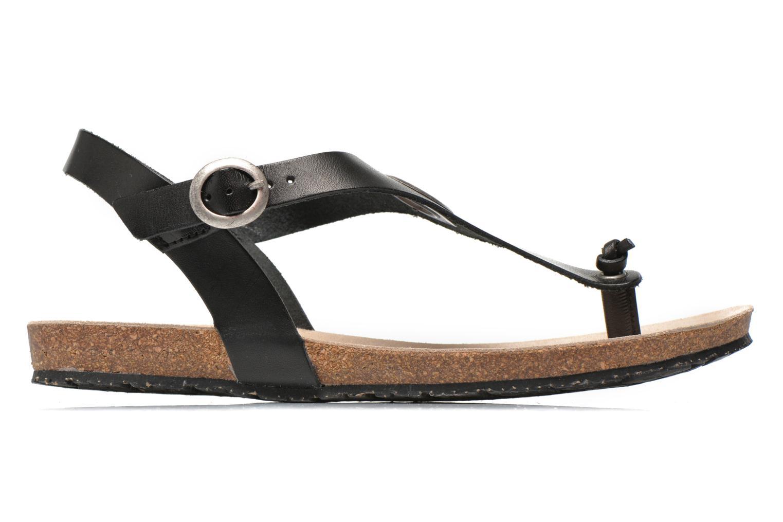 Sandaler TBS Inayah Svart bild från baksidan