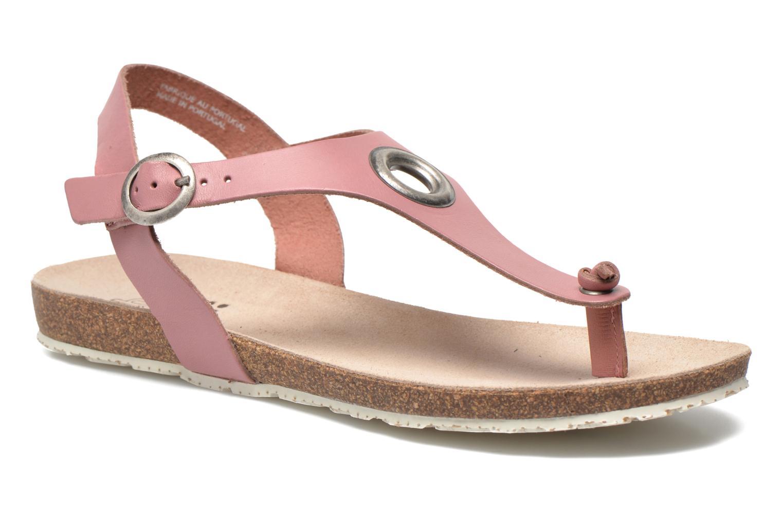 Sandales et nu-pieds TBS Inayah Rose vue détail/paire