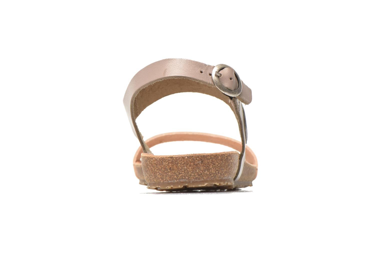 Sandales et nu-pieds TBS Isabel Beige vue face