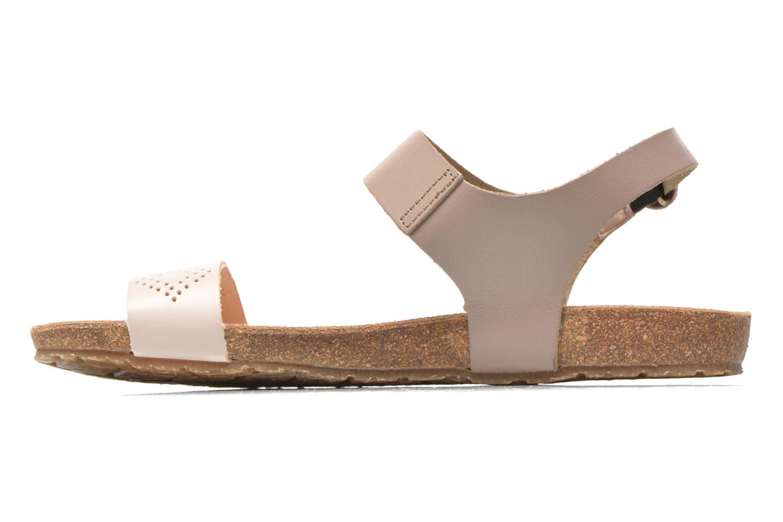 Sandales et nu-pieds TBS Isabel Beige vue droite