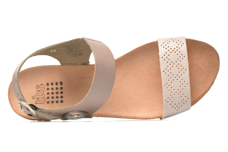 Sandales et nu-pieds TBS Isabel Beige vue gauche