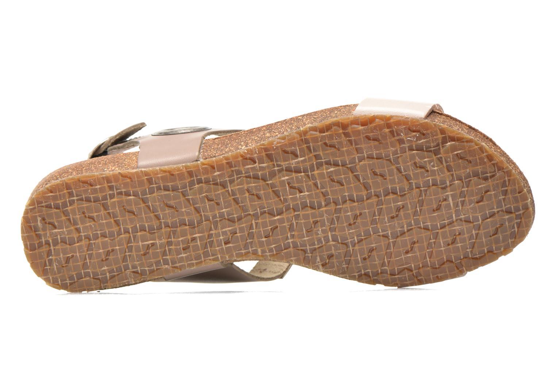 Sandales et nu-pieds TBS Isabel Beige vue haut