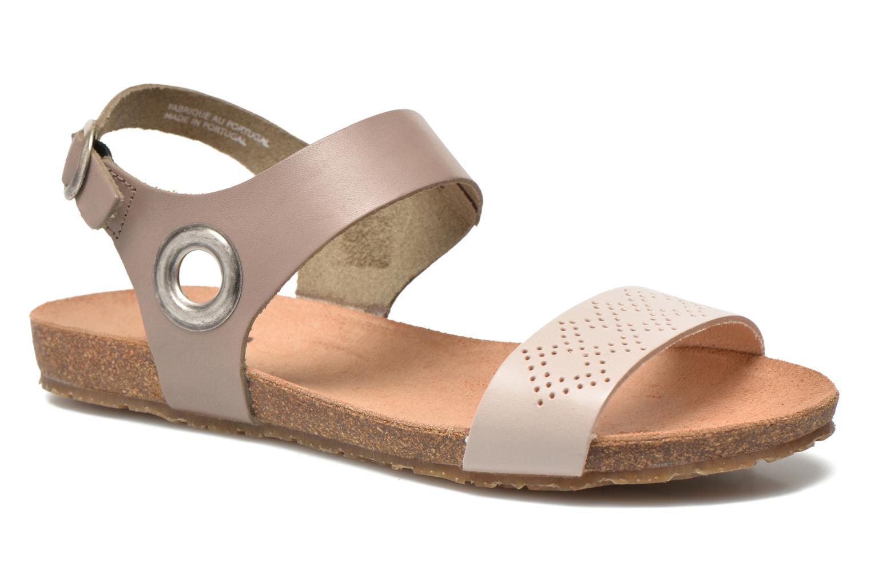 Sandales et nu-pieds TBS Isabel Beige vue détail/paire