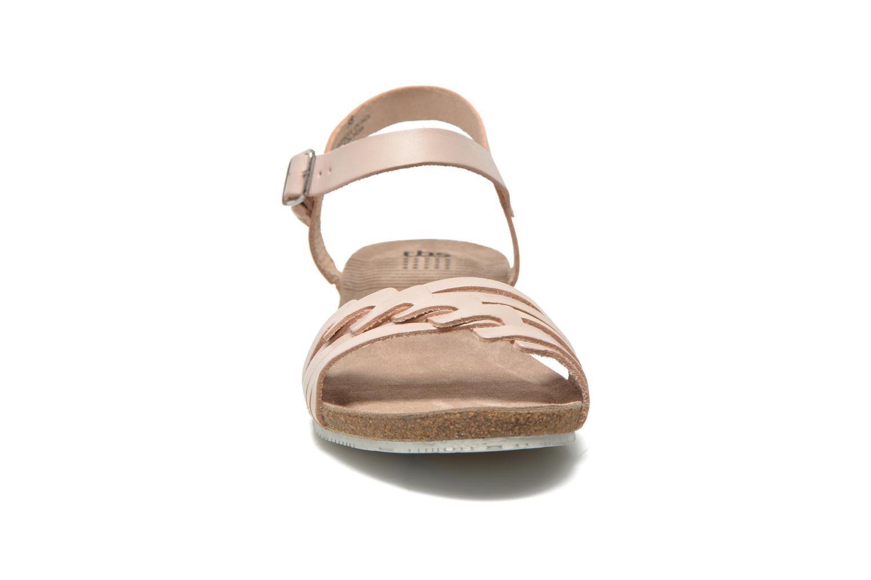Sandales et nu-pieds TBS Kayemm Beige vue portées chaussures