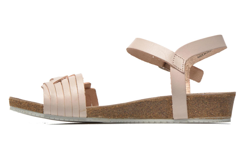 Sandales et nu-pieds TBS Kayemm Beige vue face