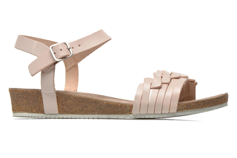 Sandales et nu-pieds TBS Kayemm Beige vue derrière