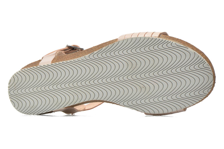 Sandales et nu-pieds TBS Kayemm Beige vue haut