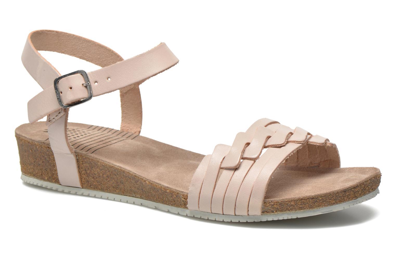 Sandales et nu-pieds TBS Kayemm Beige vue détail/paire