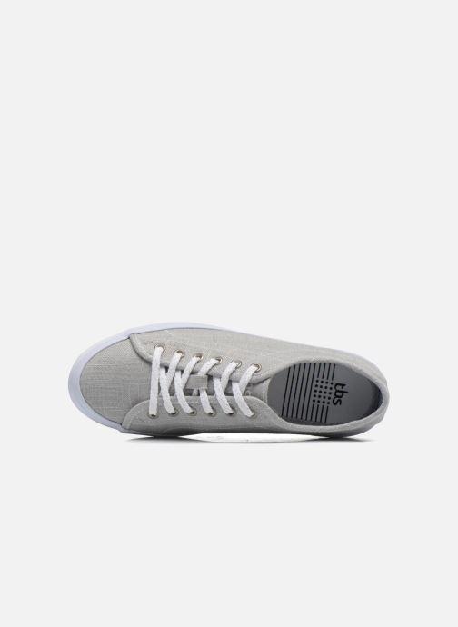 Sneaker TBS Lining grau ansicht von links