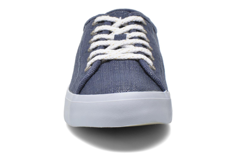 Baskets TBS Lining Bleu vue portées chaussures