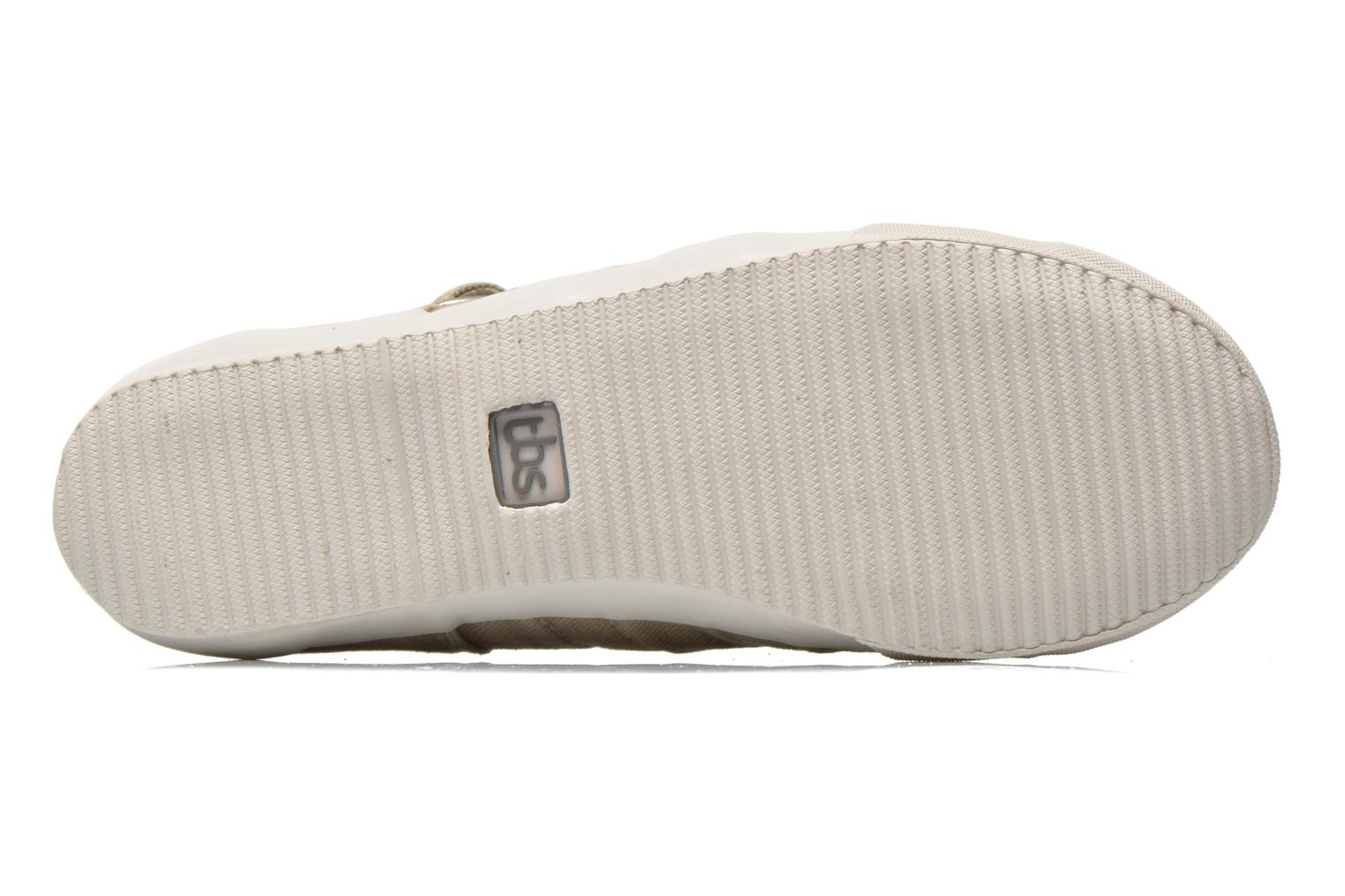 Trainers TBS Oriele Beige view from above