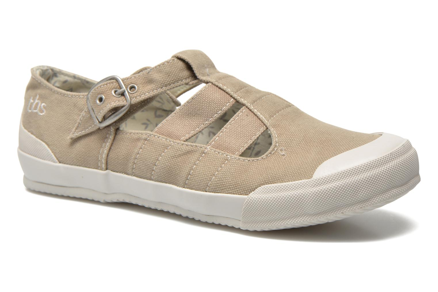 Trainers TBS Oriele Beige detailed view/ Pair view