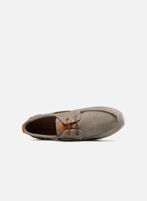 Chaussures à lacets TBS Becket Gris vue gauche