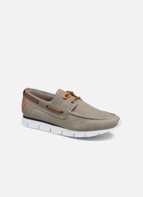 Chaussures à lacets TBS Becket Gris vue détail/paire