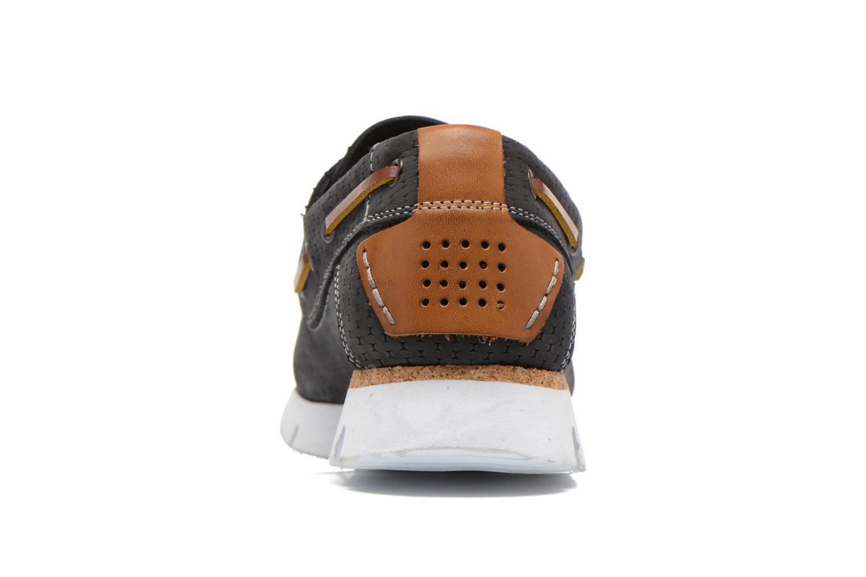 Chaussures à lacets TBS Becket Bleu vue droite