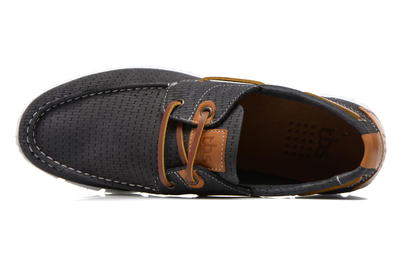 Chaussures à lacets TBS Becket Bleu vue gauche