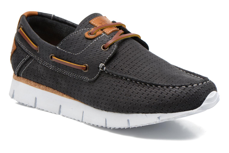 Chaussures à lacets TBS Becket Bleu vue détail/paire