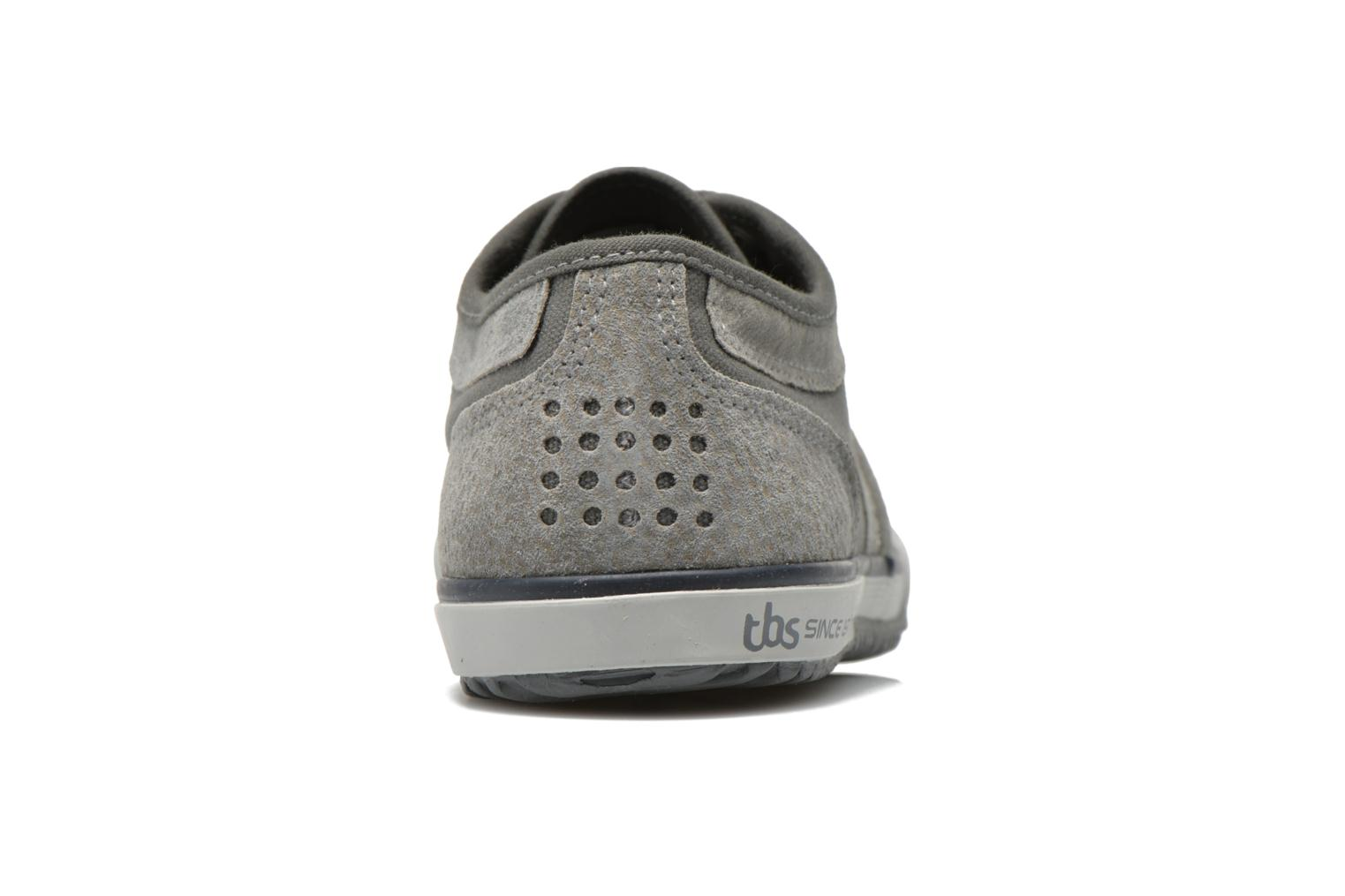 Trainers TBS Edgard Nuage Grey view from the right