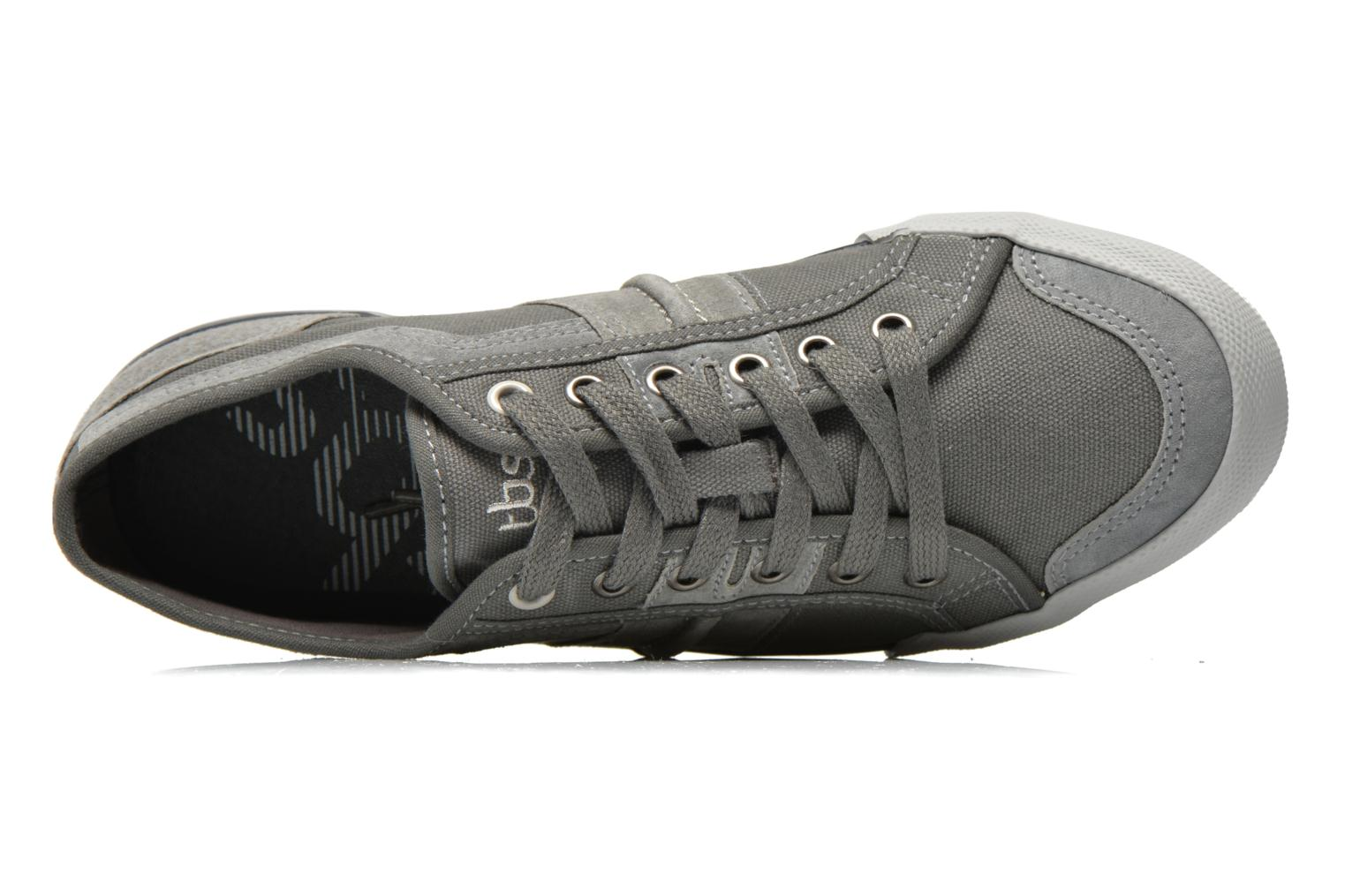 Trainers TBS Edgard Nuage Grey view from the left