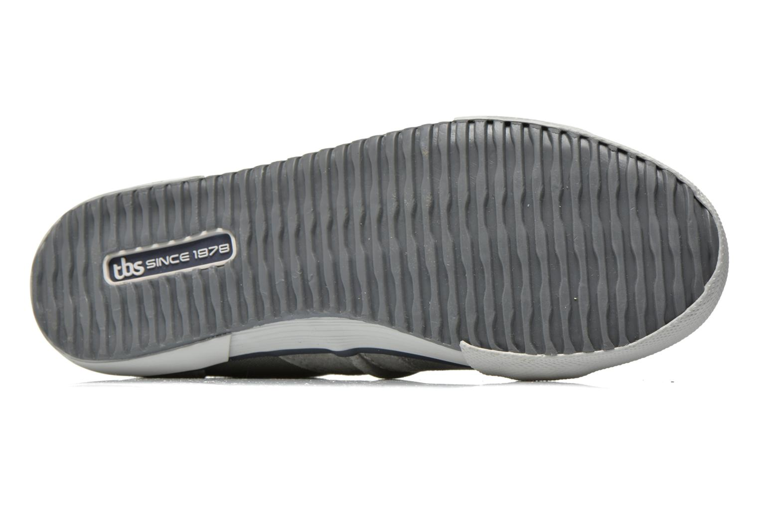 Trainers TBS Edgard Nuage Grey view from above