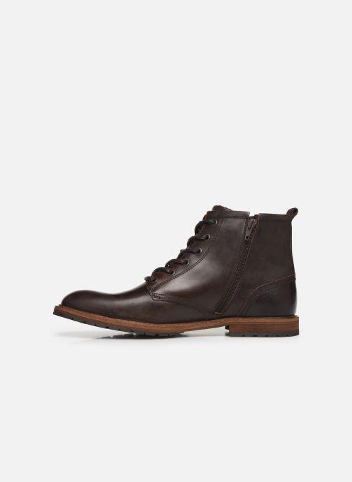Chaussures à lacets Bullboxer Francis Marron vue face