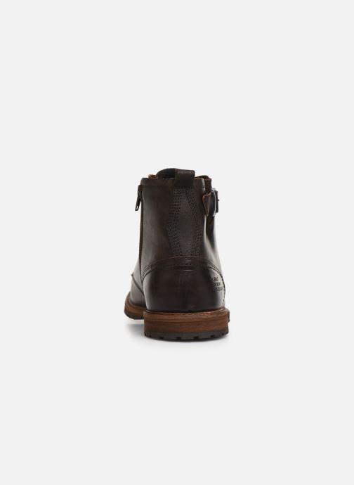 Chaussures à lacets Bullboxer Francis Marron vue droite