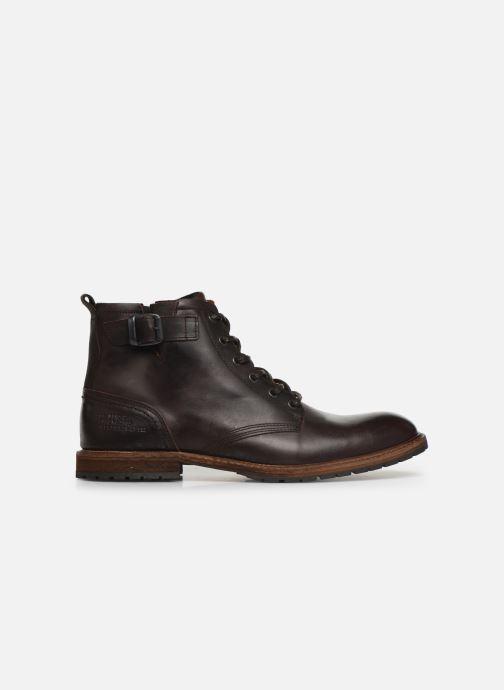 Chaussures à lacets Bullboxer Francis Marron vue derrière