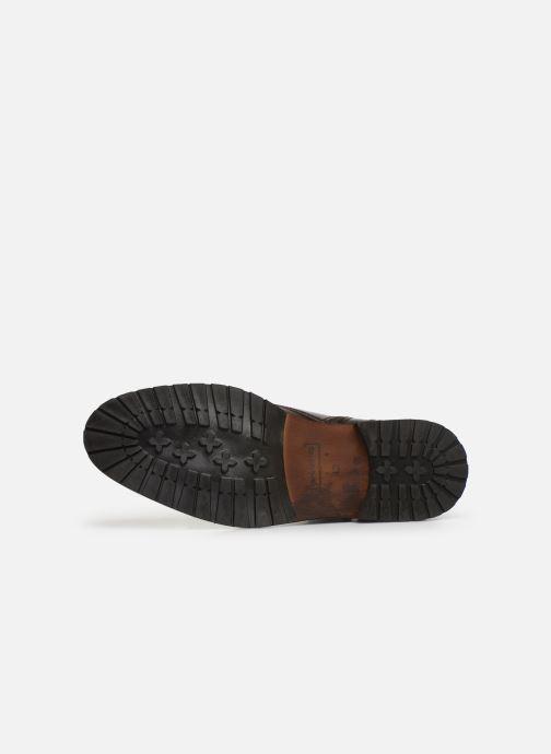 Chaussures à lacets Bullboxer Francis Marron vue haut