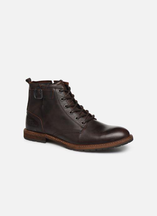 Chaussures à lacets Bullboxer Francis Marron vue détail/paire
