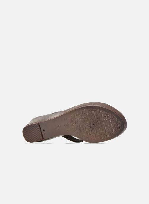 Mules & clogs Grendha Tribal Plat Fem Brown view from above
