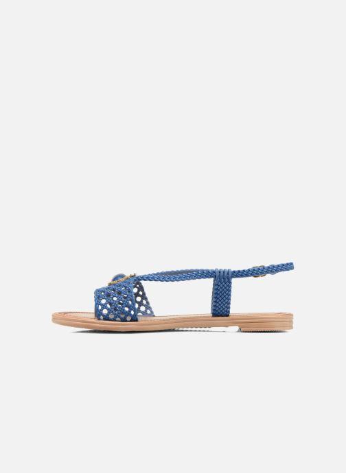 Sandales et nu-pieds Grendha Tribale IV Sandal Bleu vue face