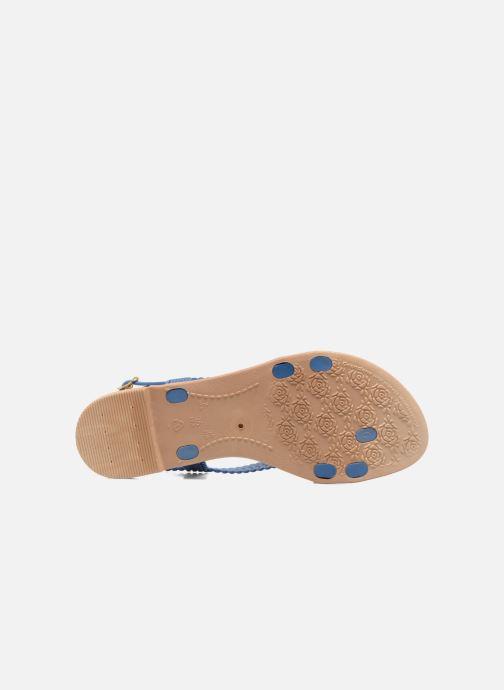 Sandales et nu-pieds Grendha Tribale IV Sandal Bleu vue haut
