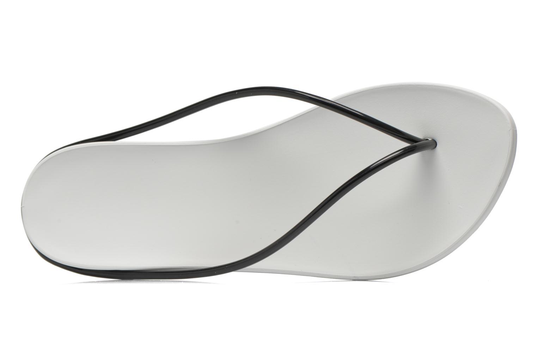 Tongs Ipanema Philippe Starck Thing M Fem Blanc vue gauche